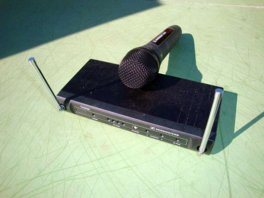 Barwagen Zubehör Funkmikrofon